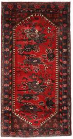 Hamedan Koberec 102X193 Orientální Ručně Tkaný Tmavě Červená/Tmavě Hnědá (Vlna, Persie/Írán)