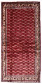Sarough Mir Koberec 107X215 Orientální Ručně Tkaný Tmavě Červená/Červená (Vlna, Persie/Írán)