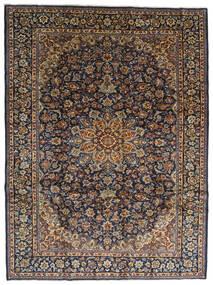 Najafabad Koberec 275X367 Orientální Ručně Tkaný Tmavošedý/Černá Velký (Vlna, Persie/Írán)
