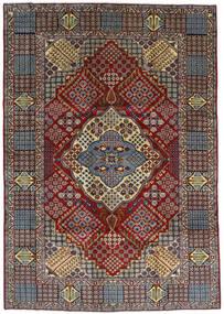 Keshan Koberec 263X372 Orientální Ručně Tkaný Tmavě Hnědá/Světle Hnědá Velký (Vlna, Persie/Írán)