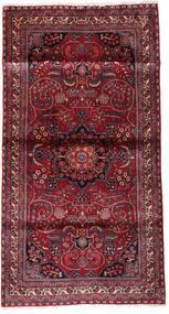 Kashmar Koberec 107X200 Orientální Ručně Tkaný Tmavě Červená/Světle Fialový (Vlna, Persie/Írán)