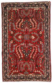 Lillian Koberec 80X128 Orientální Ručně Tkaný Tmavě Hnědá/Tmavě Červená (Vlna, Persie/Írán)