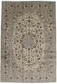 Keshan Koberec 246X357 Orientální Ručně Tkaný Tmavě Hnědá/Černá (Vlna, Persie/Írán)