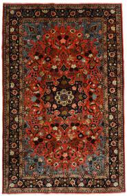 Mehraban Koberec 188X290 Orientální Ručně Tkaný Tmavě Červená/Červenožlutá (Vlna, Persie/Írán)