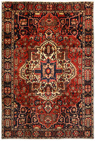Bakhtiar Koberec 214X316 Orientální Ručně Tkaný Tmavě Hnědá/Tmavě Červená (Vlna, Persie/Írán)