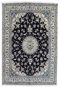 Nain Koberec 166X248 Orientální Ručně Tkaný Tmavošedý/Černá (Vlna, Persie/Írán)