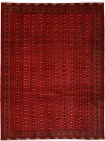 Turkaman Koberec 252X337 Orientální Ručně Tkaný Červená/Červenožlutá Velký (Vlna, Persie/Írán)