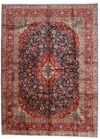 Keshan Koberec 296X400 Orientální Ručně Tkaný Tmavě Červená/Tmavě Fialová Velký (Vlna, Persie/Írán)