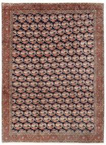 Bidjar Koberec 254X343 Orientální Ručně Tkaný Tmavě Červená/Hnědá Velký (Vlna, Persie/Írán)