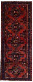 Hamedan Koberec 118X296 Orientální Ručně Tkaný Běhoun Tmavě Červená/Červenožlutá (Vlna, Persie/Írán)