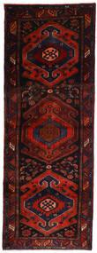 Hamedan Koberec 106X305 Orientální Ručně Tkaný Běhoun Tmavě Červená/Červenožlutá (Vlna, Persie/Írán)