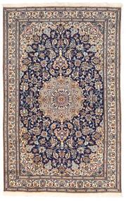 Nain Koberec 155X250 Orientální Ručně Tkaný Tmavošedý/Tmavě Hnědá (Vlna, Persie/Írán)