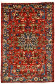 Nahavand Old Koberec 162X242 Orientální Ručně Tkaný Tmavě Červená/Tmavě Hnědá (Vlna, Persie/Írán)