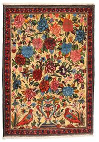 Bakhtiar Collectible Koberec 107X154 Orientální Ručně Tkaný Tmavá Béžová/Červená (Vlna, Persie/Írán)