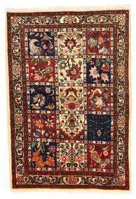 Bakhtiar Collectible Koberec 100X148 Orientální Ručně Tkaný Černá/Tmavě Červená (Vlna, Persie/Írán)