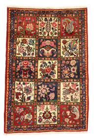 Bakhtiar Collectible Koberec 105X156 Orientální Ručně Tkaný Tmavě Hnědá/Tmavě Červená (Vlna, Persie/Írán)