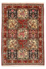 Bakhtiar Collectible Koberec 103X150 Orientální Ručně Tkaný Tmavě Hnědá/Světle Hnědá (Vlna, Persie/Írán)