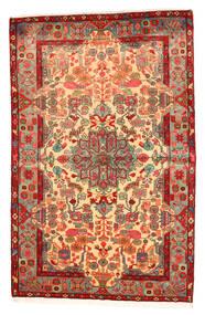 Nahavand Old Koberec 158X250 Orientální Ručně Tkaný Červená/Tmavá Béžová (Vlna, Persie/Írán)