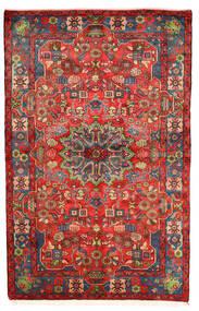 Nahavand Old Koberec 155X241 Orientální Ručně Tkaný Tmavě Červená/Červenožlutá (Vlna, Persie/Írán)