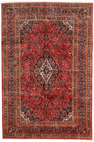 Keshan Koberec 190X290 Orientální Ručně Tkaný Tmavě Hnědá/Červenožlutá (Vlna, Persie/Írán)