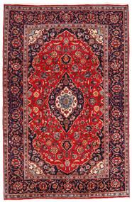 Keshan Koberec 194X301 Orientální Ručně Tkaný Tmavě Červená/Tmavě Fialová (Vlna, Persie/Írán)