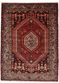 Zanjan Koberec 146X200 Orientální Ručně Tkaný Tmavě Červená (Vlna, Persie/Írán)