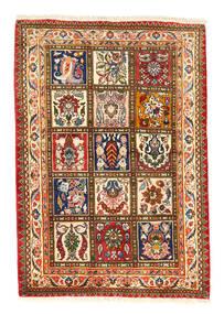 Bakhtiar Collectible Koberec 105X150 Orientální Ručně Tkaný Červená/Tmavošedý (Vlna, Persie/Írán)