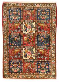 Bakhtiar Collectible Koberec 115X155 Orientální Ručně Tkaný Tmavě Hnědá/Červená (Vlna, Persie/Írán)