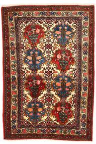 Bakhtiar Collectible Koberec 108X157 Orientální Ručně Tkaný Tmavě Hnědá/Tmavě Červená (Vlna, Persie/Írán)