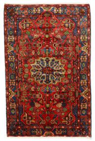 Nahavand Old Koberec 150X235 Orientální Ručně Tkaný Tmavě Červená/Tmavě Hnědá (Vlna, Persie/Írán)