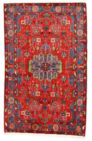 Nahavand Old Koberec 159X250 Orientální Ručně Tkaný Tmavě Červená/Červená (Vlna, Persie/Írán)