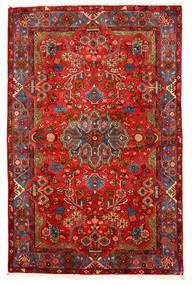 Nahavand Old Koberec 155X238 Orientální Ručně Tkaný Tmavě Červená/Tmavě Hnědá (Vlna, Persie/Írán)