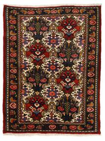 Bakhtiar Collectible Koberec 110X142 Orientální Ručně Tkaný Černá/Červenožlutá (Vlna, Persie/Írán)