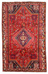Shiraz Koberec 171X272 Orientální Ručně Tkaný Tmavě Červená/Červenožlutá (Vlna, Persie/Írán)
