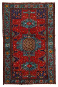 Koliai Koberec 125X201 Orientální Ručně Tkaný Tmavě Červená/Tmavě Hnědá (Vlna, Persie/Írán)