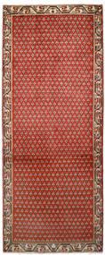 Sarough Mir Koberec 79X197 Orientální Ručně Tkaný Běhoun Červenožlutá/Tmavě Hnědá (Vlna, Persie/Írán)