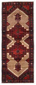 Hamedan Koberec 99X246 Orientální Ručně Tkaný Běhoun Tmavě Červená (Vlna, Persie/Írán)