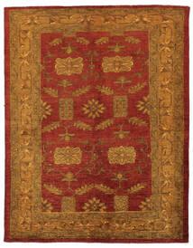 Oriental Overdyed Koberec 144X183 Moderní Ručně Tkaný Tmavě Hnědá/Tmavě Červená/Béžová (Vlna, Persie/Írán)
