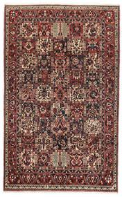 Bakhtiar Koberec 162X260 Orientální Ručně Tkaný Tmavě Červená/Černá (Vlna, Persie/Írán)