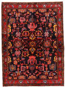 Lillian Koberec 146X200 Orientální Ručně Tkaný Tmavě Hnědá/Tmavě Červená (Vlna, Persie/Írán)