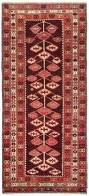 Kelim Karabach Koberec 132X303 Orientální Ruční Tkaní Běhoun Tmavě Červená/Červenožlutá (Vlna, Ázerbájdžán/Rusko)