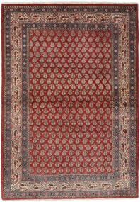 Sarough Mir Koberec 106X158 Orientální Ručně Tkaný Tmavě Hnědá/Černá (Vlna, Persie/Írán)