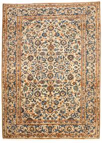 Najafabad Koberec 203X278 Orientální Ručně Tkaný Béžová/Černá (Vlna, Persie/Írán)