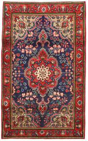 Tabriz Koberec 100X165 Orientální Ručně Tkaný Červenožlutá/Tmavošedý (Vlna, Persie/Írán)