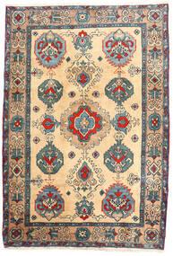 Ardebil Koberec 114X168 Orientální Ručně Tkaný Béžová/Světle Hnědá (Vlna, Persie/Írán)