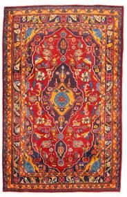 Golpayegan Koberec 107X168 Orientální Ručně Tkaný Červenožlutá/Tmavě Červená (Vlna, Persie/Írán)