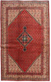 Sarough Mir Koberec 128X210 Orientální Ručně Tkaný Tmavě Červená/Červenožlutá (Vlna, Persie/Írán)