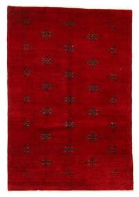 Huttan Koberec 125X183 Orientální Ručně Tkaný Tmavě Červená (Vlna, Pákistán)
