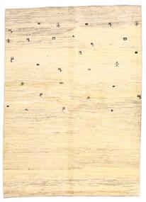 Gabbeh Perské Koberec 169X236 Moderní Ručně Tkaný Béžová/Žlutý (Vlna, Persie/Írán)