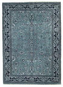 Gabbeh Loribaft Koberec 90X127 Moderní Ručně Tkaný Modrá/Tmavě Modrý/Světle Šedá (Vlna, Indie)